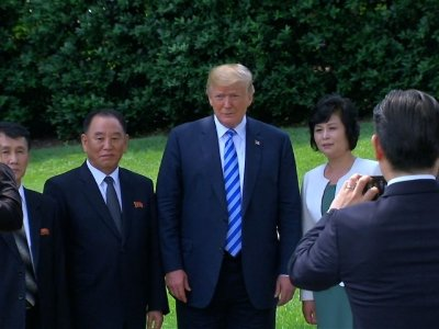 Trump: Summit With NKorea in Singapore Back On