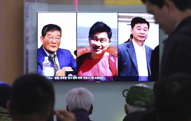 Kim Dong Chul, Tony Kim, Kim Hak Song