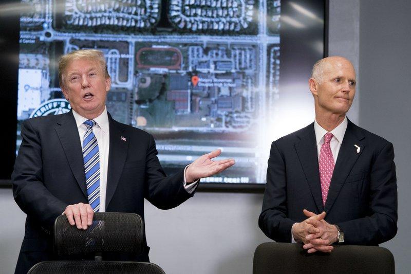 Donald Trump, Rick Scott