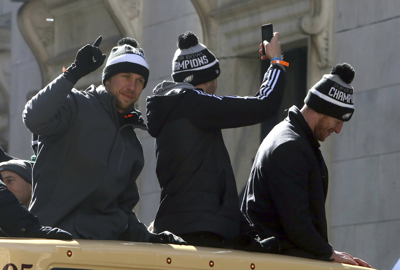 Fans de los Eagles salen a festejar el Super Bowl
