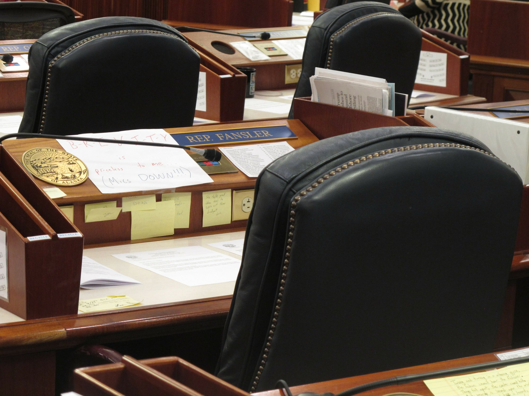 2 Alaska Lawmakers Face Questions About Their Behavior