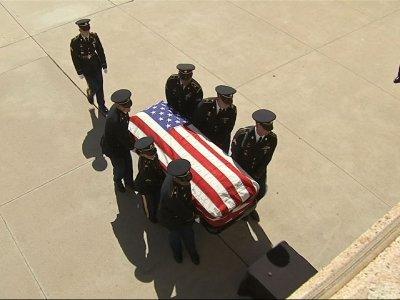 John McCain's casket arrives at Arizona's Capitol