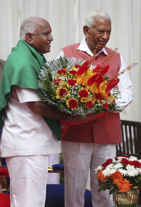 B. S. Yeddyurappa, Vajubhai Vala