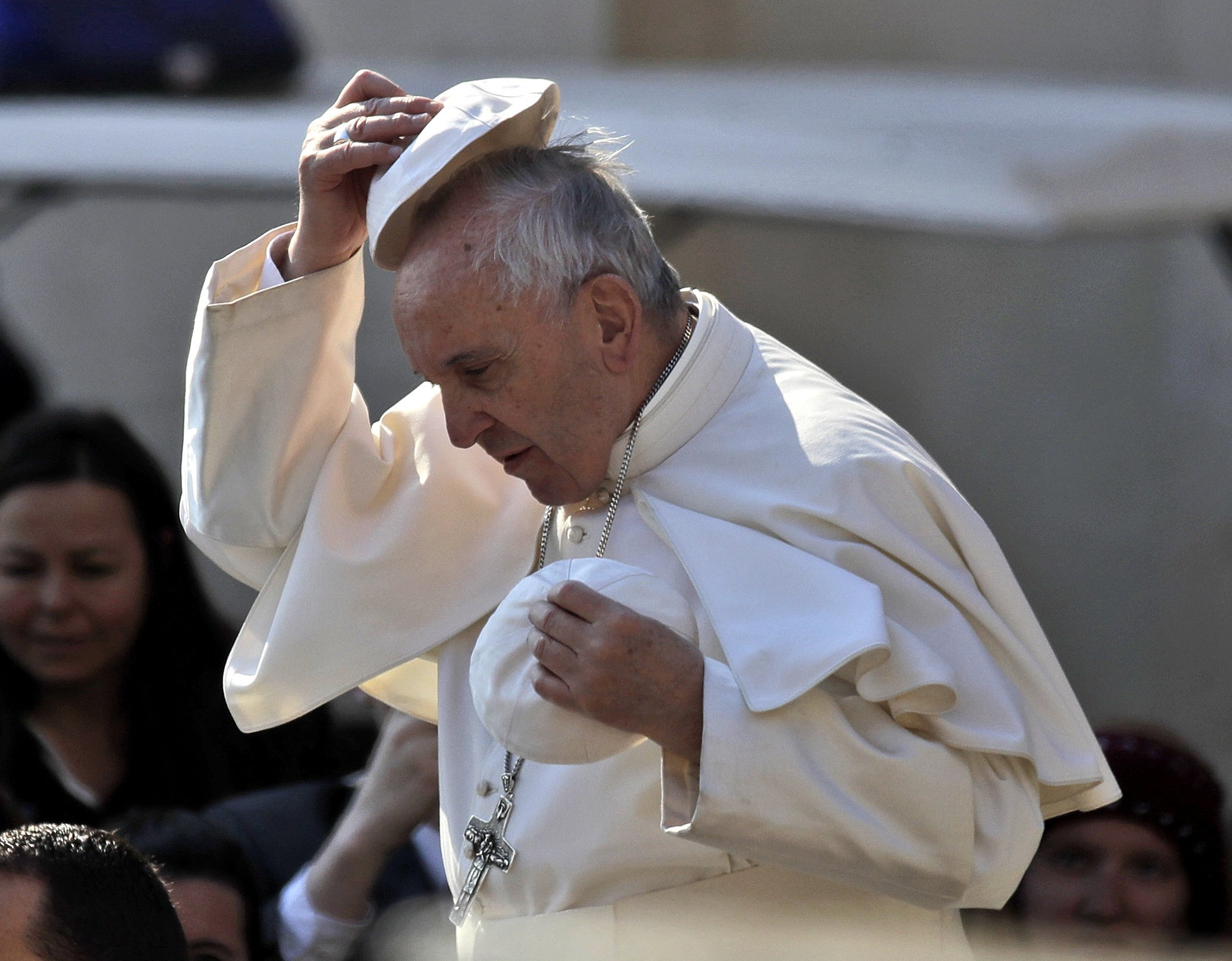 Pope to wash feet of inmates at mafia turncoat prison