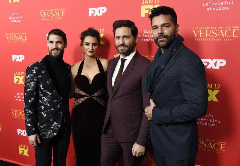 Darren Criss, Penelope Cruz, Edgar Ramirez, Ricky Martin