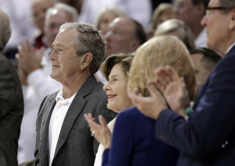 George W. Bush, Laura Bush,