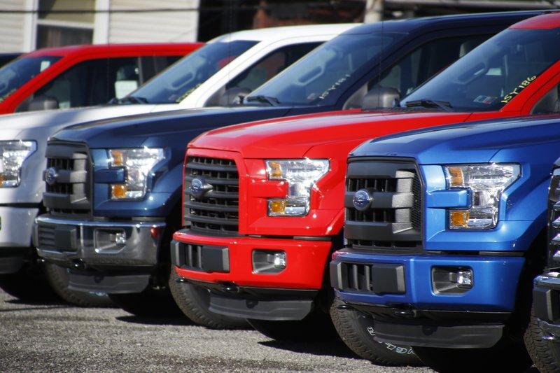 2015 Ford F-150 Pickup Trucks