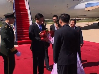 Senior Chinese official arrives in North Korea