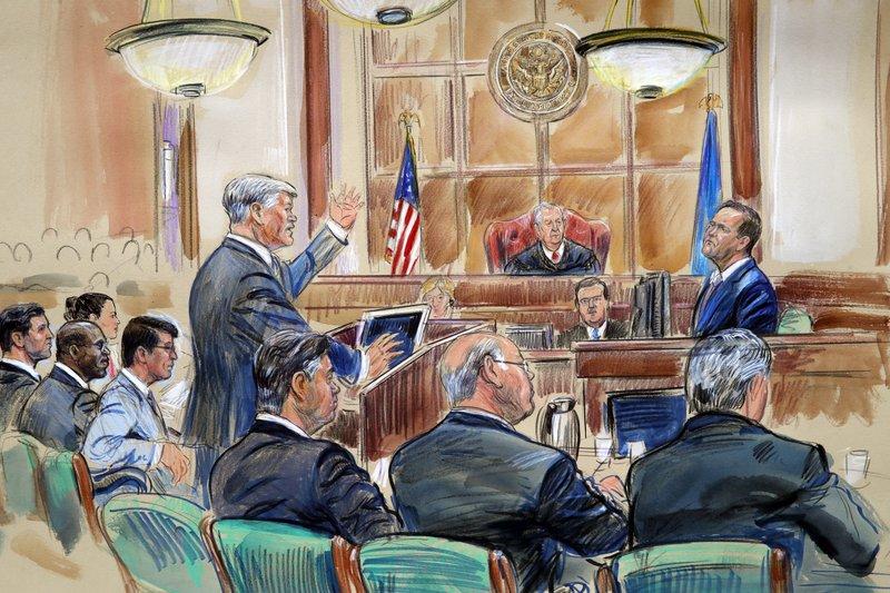 Rick Gates, Kevin Downing, Paul Manafort