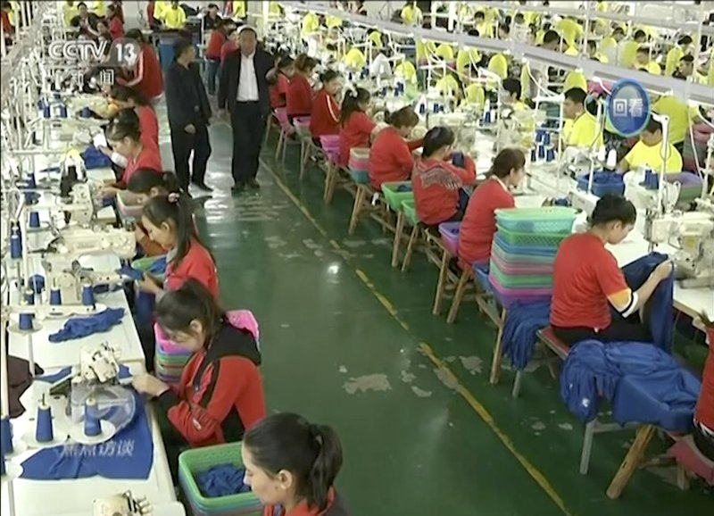 837af0dd9 US sportswear traced to factory in China s internment camps