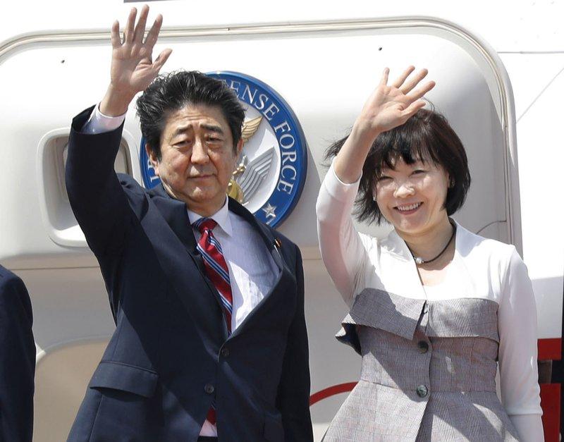 Shinzo Abe, Yukie Abe
