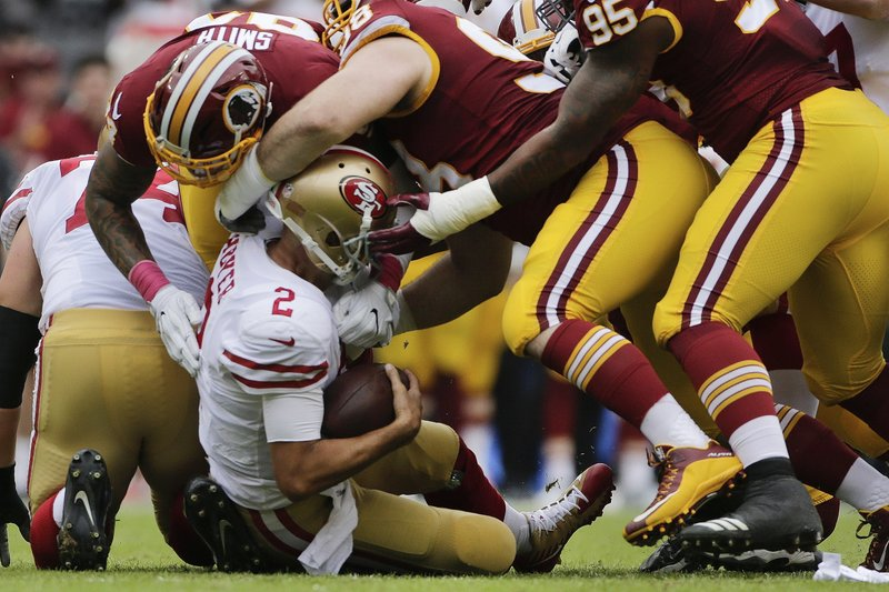 Brian Hoyer, Preston Smith, Matthew Ioannidis