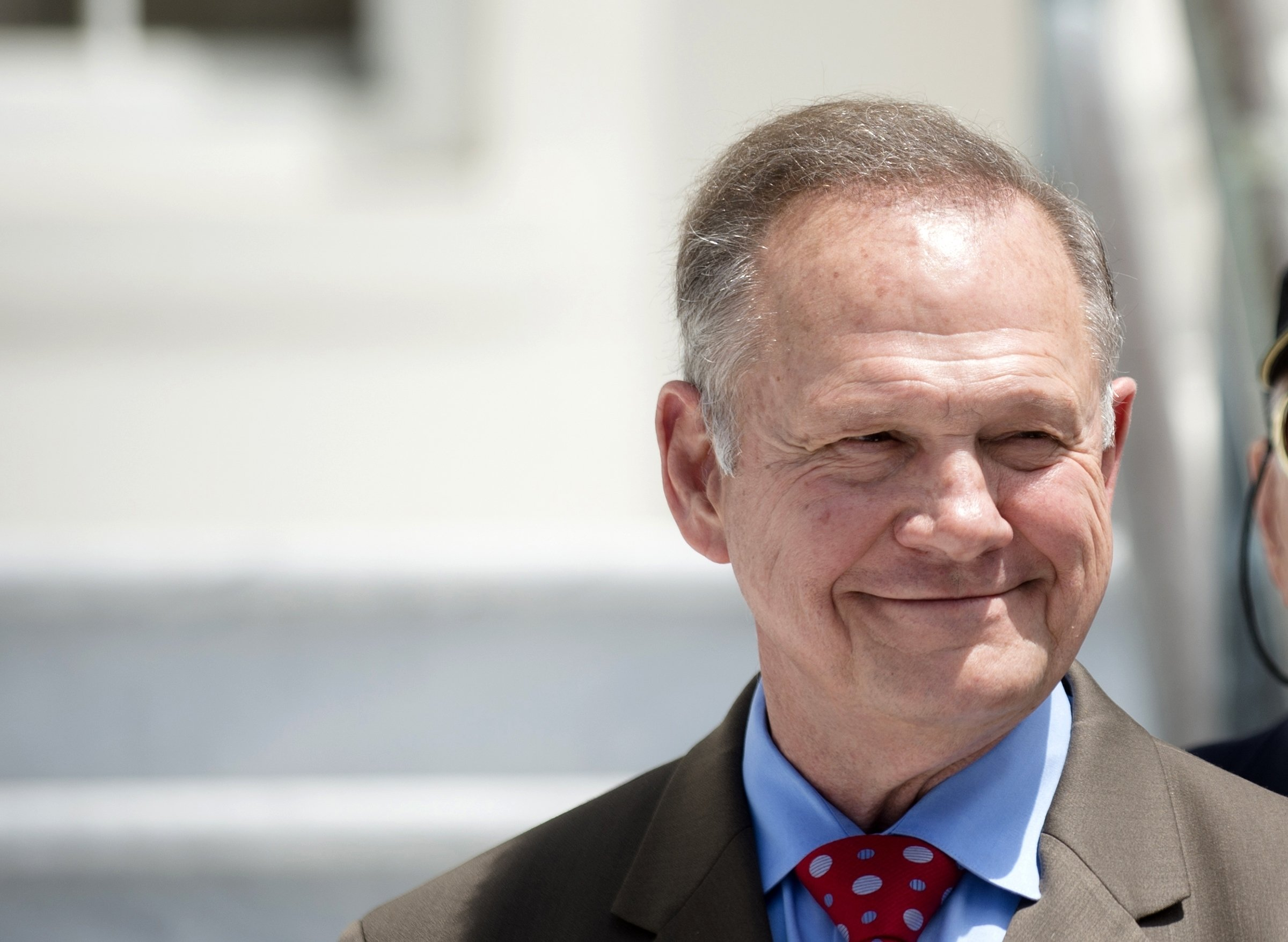 In Alabama Senate race, Roy Moore stirs far right base