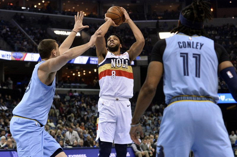 Balanced Pelicans Easily Top Grizzlies Without Injured Davis