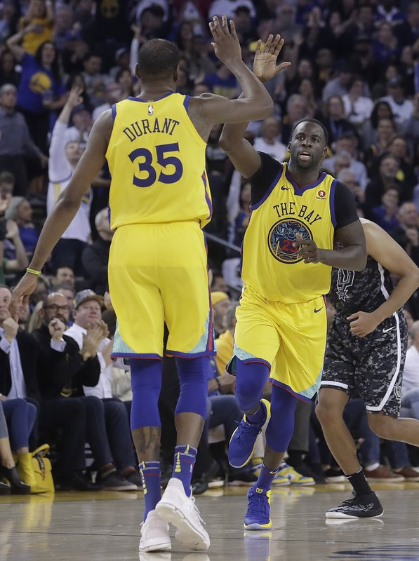 Kevin Durant, Draymond Green