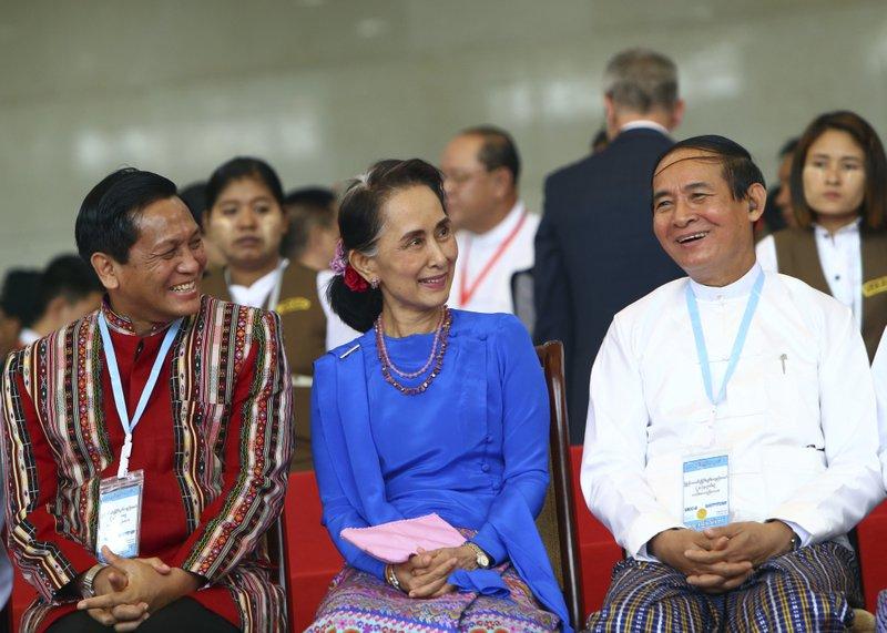 Win Myint, Aung San Suu Kyi, Henry Van Hti Yu