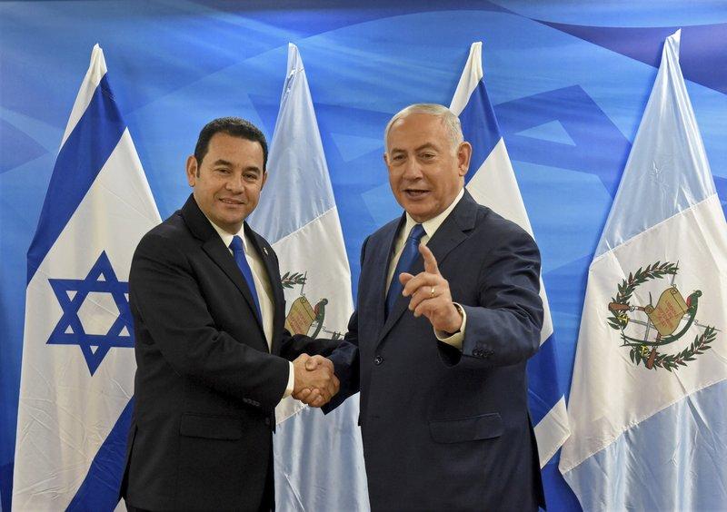 Jimmy Morales, Benjamin Netanyahu