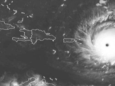 Powerful Hurricane Irma Approaches NE Caribbean