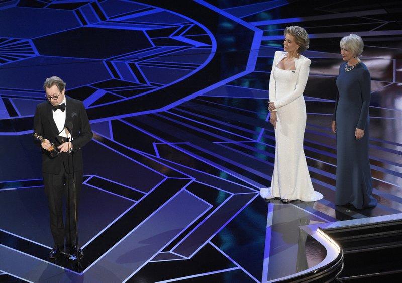 Gary Oldman, Jane Fonda, Helen Mirren