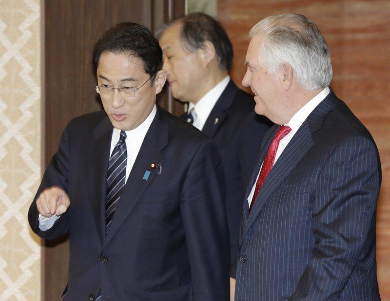 Rex Tillerson, Fumio Kishida