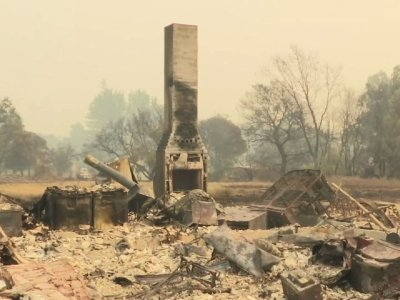 Calif. Lawmakers Tour Napa Wildfire Devastation