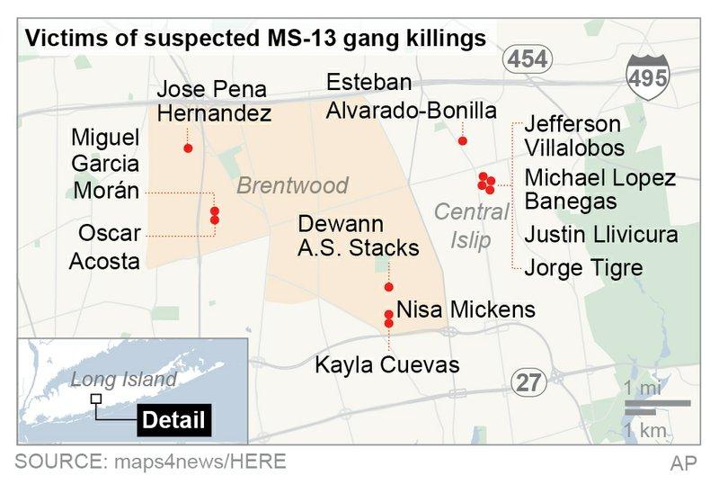 LONG ISLAND GANG KILLINGS