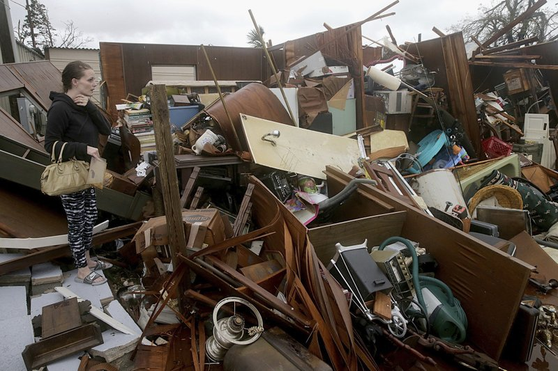 The Latest: Michael still a hurricane hours after landfall