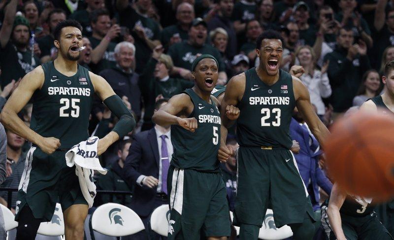 Brock Washington Michigan State Spartans Final Four Basketball Jersey - Green