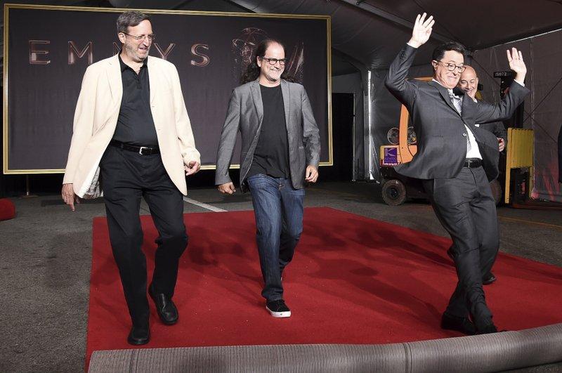 Ricky Kirshner, Glenn Weiss, Stephen Colbert, Jack Sussman
