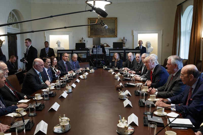 Donald Trump, Haider al-Abadi