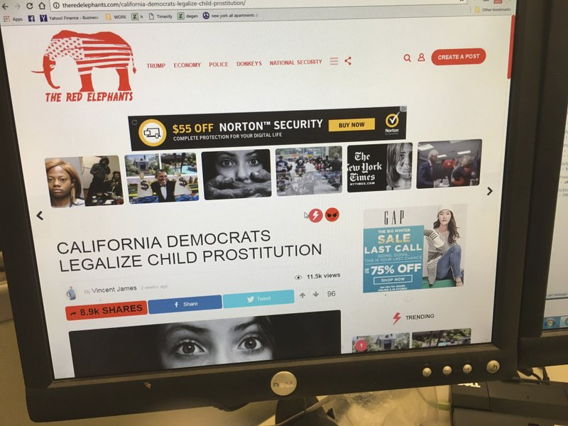 Intentionally or not, big brands help fund fake news