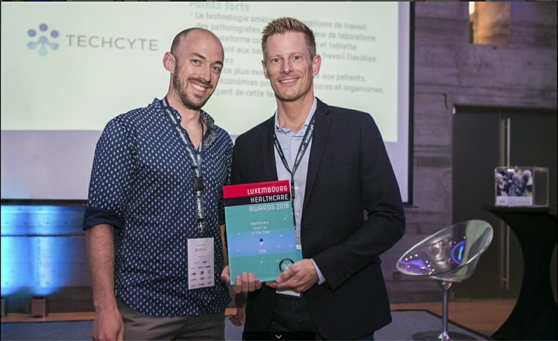 Techcyte Europe Awarded 2018 Healthcare Startup of the Year