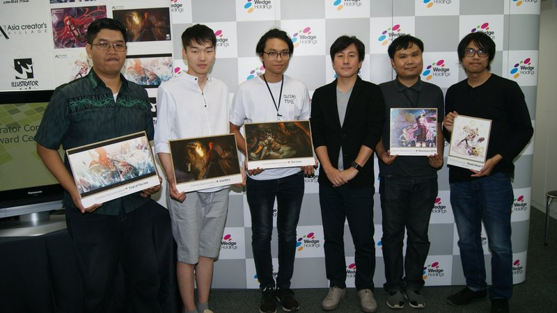 """Wedge Holdings: Largest Illustration Contest in Asia, """"Illustrator Contest Asia"""" Award Ceremony and Travel Prize to Japan"""