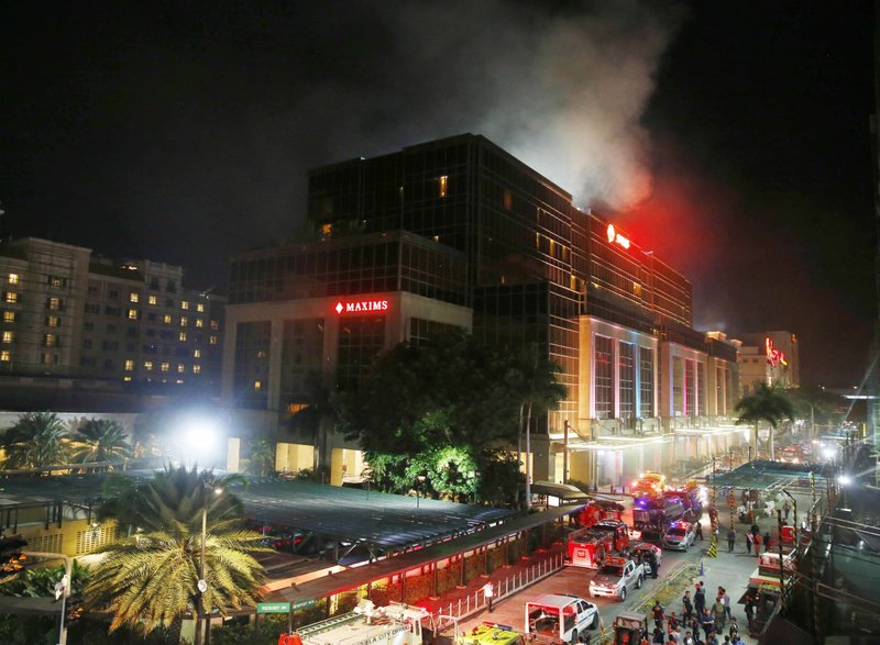 36 dead from smoke in Philippine casino attack