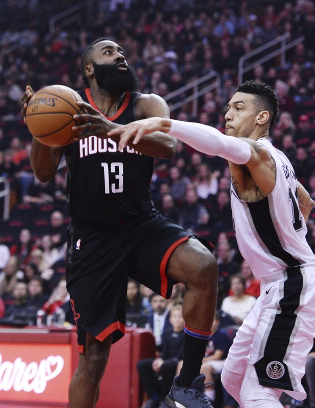 James Harden, Danny Green