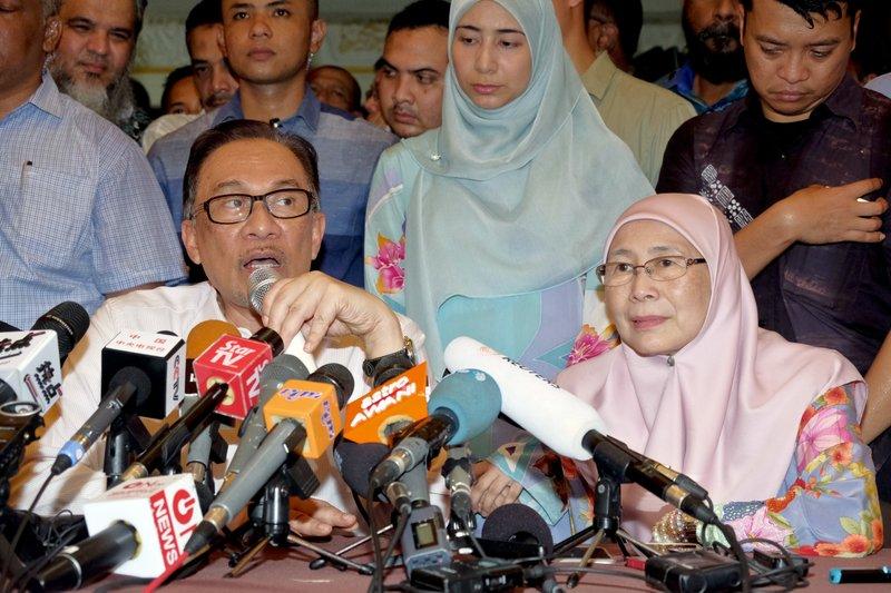 Anwar Ibrahim, Wan Azizah