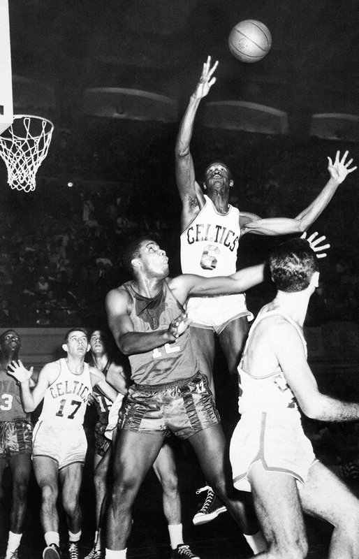 Bill Russell, Ed Fleming, Andy Phillip