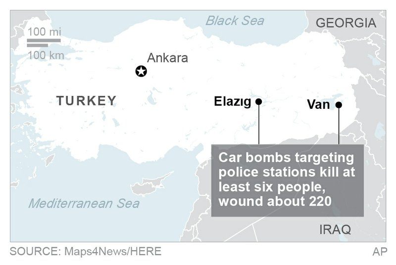 TURKEY CAR BOMBS