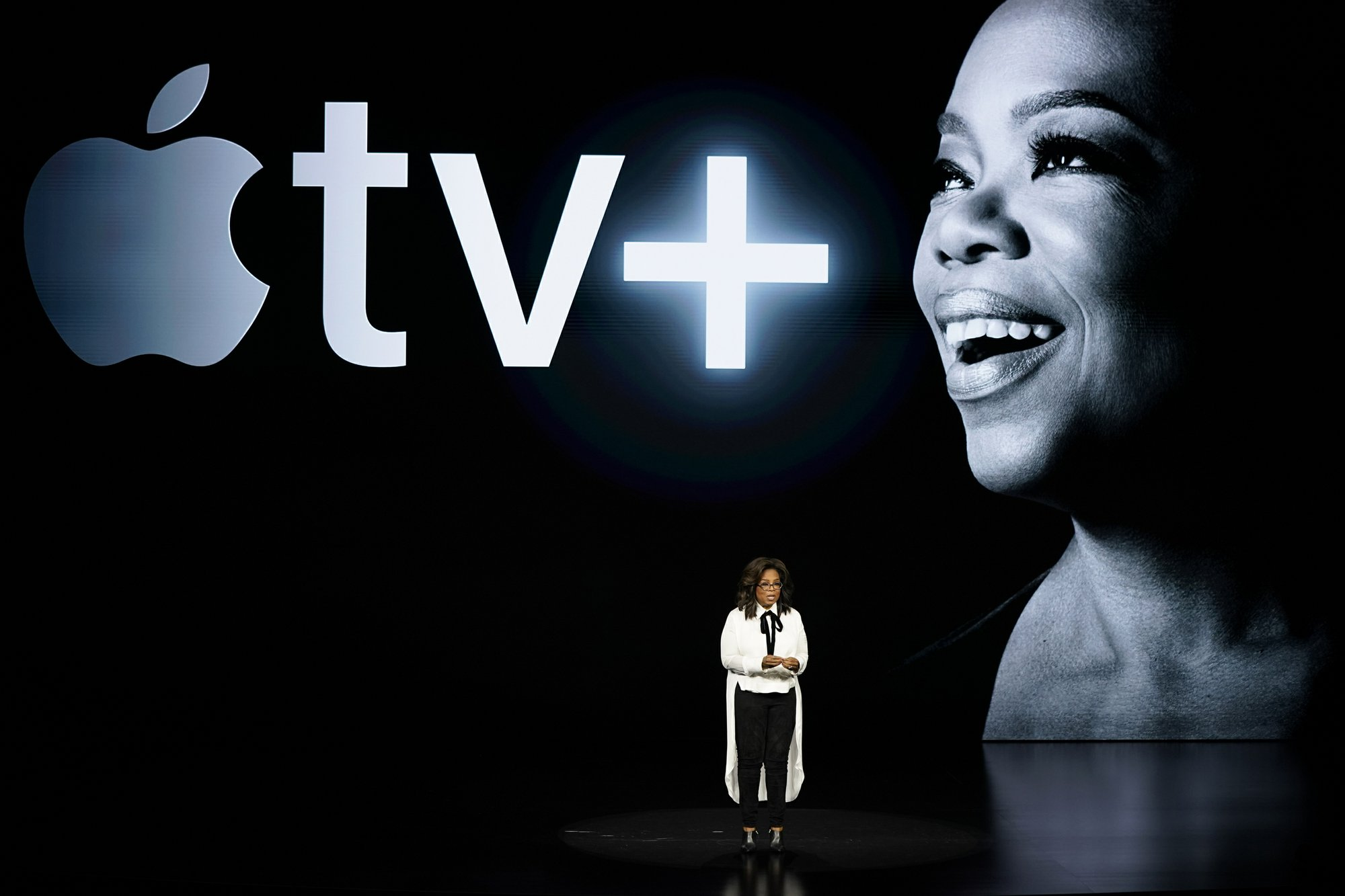 Oprah under Apple
