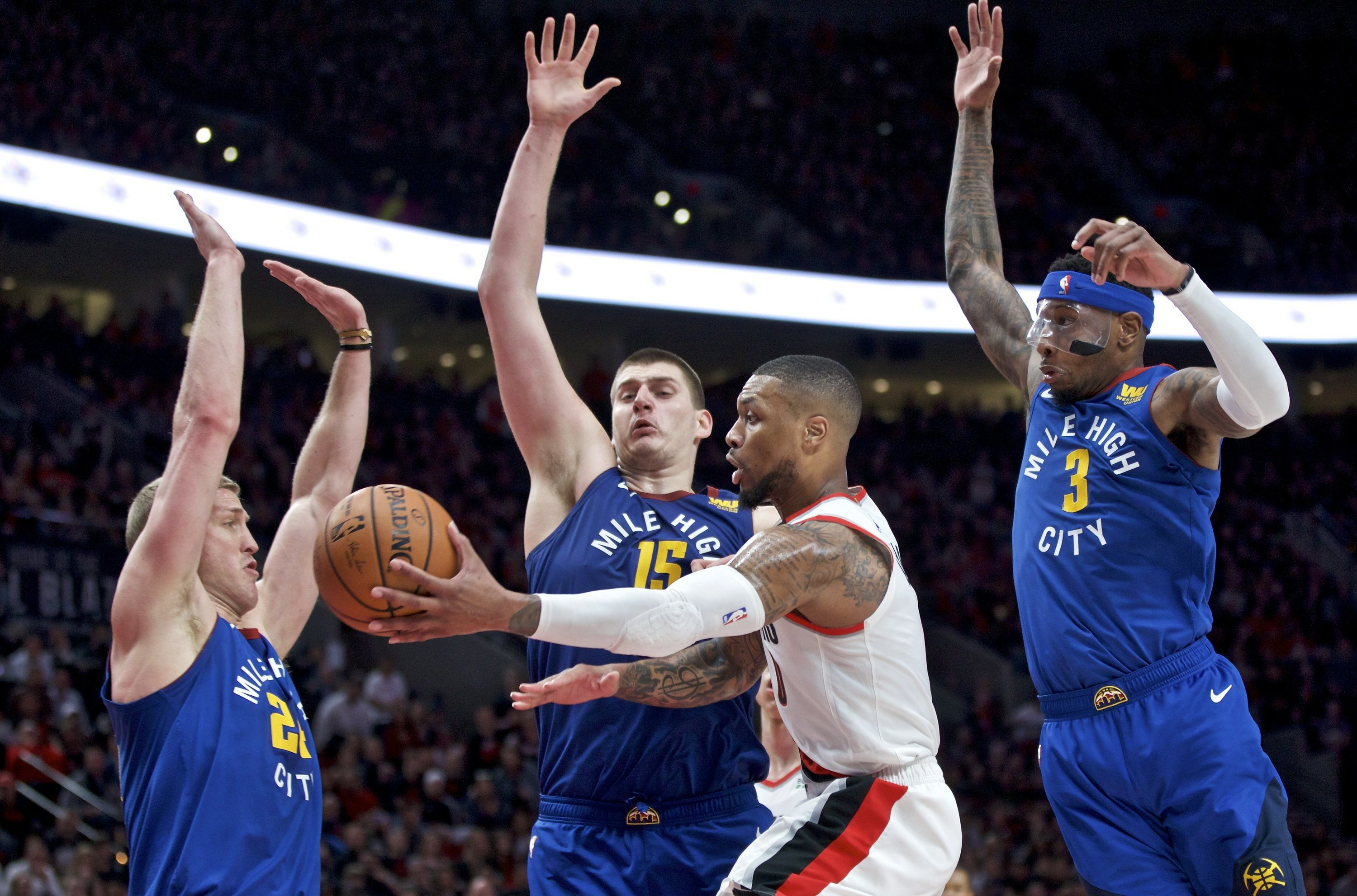 No Rest For The Weary Mug: No Rest For The Weary: Nuggets, Blazers Back At It Sunday