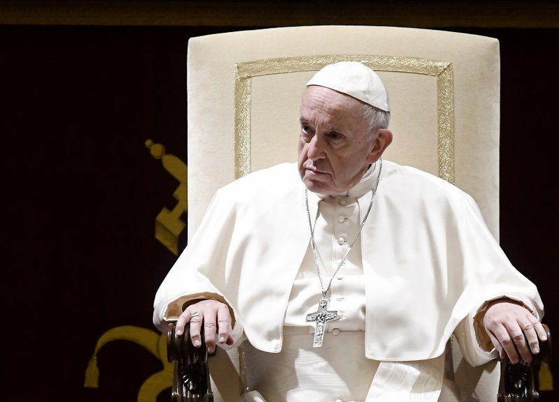 A FRESH START! POPE TELLS ABUSIVE PRIESTS TO TURN THEMSELVES IN
