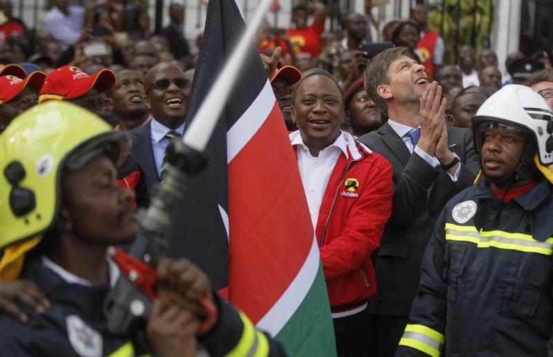 Uhuru Kenyatta, Nicolas Nihon