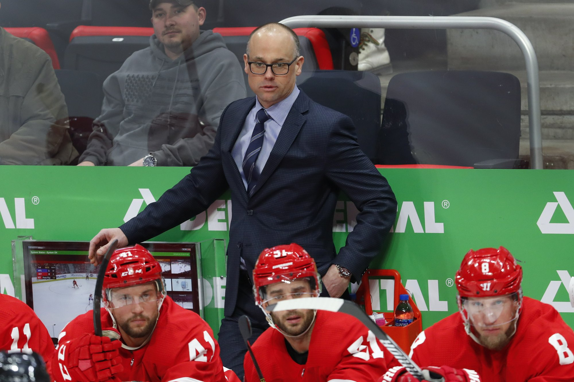 Red Wings' Blashill to coach US men at world championship