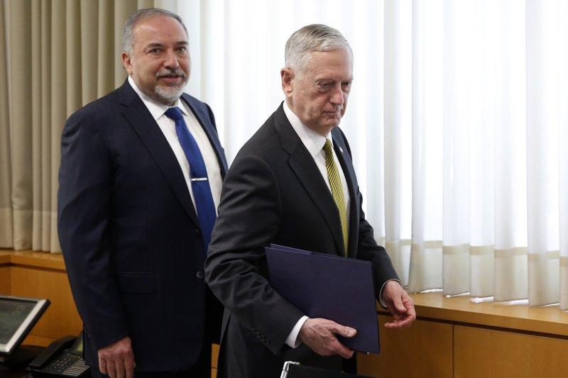 Jim Mattis, Avigdor Lieberman