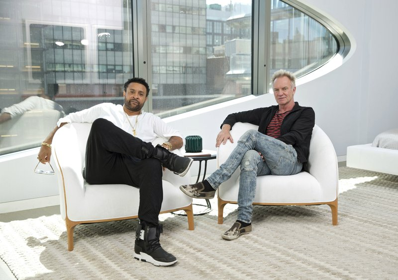 Sting and Shaggy share chemistry, on and off their new CD