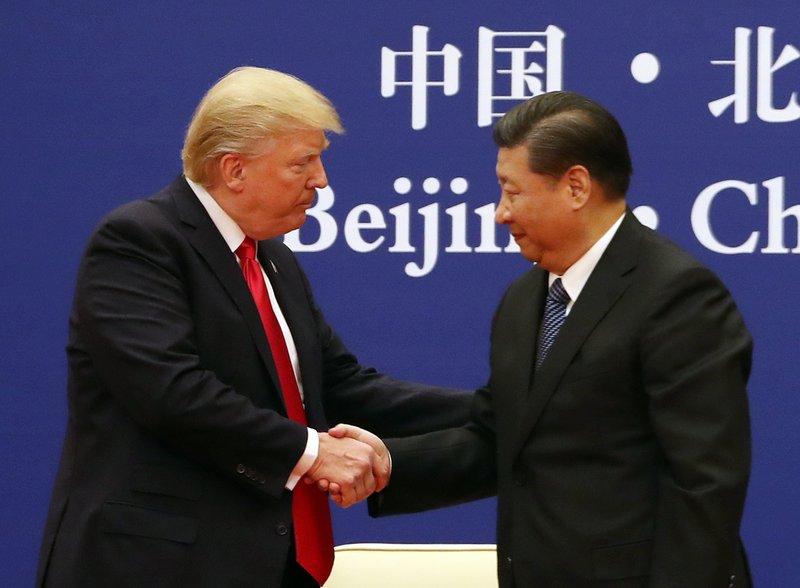 Xi Jinping, Donald Trump