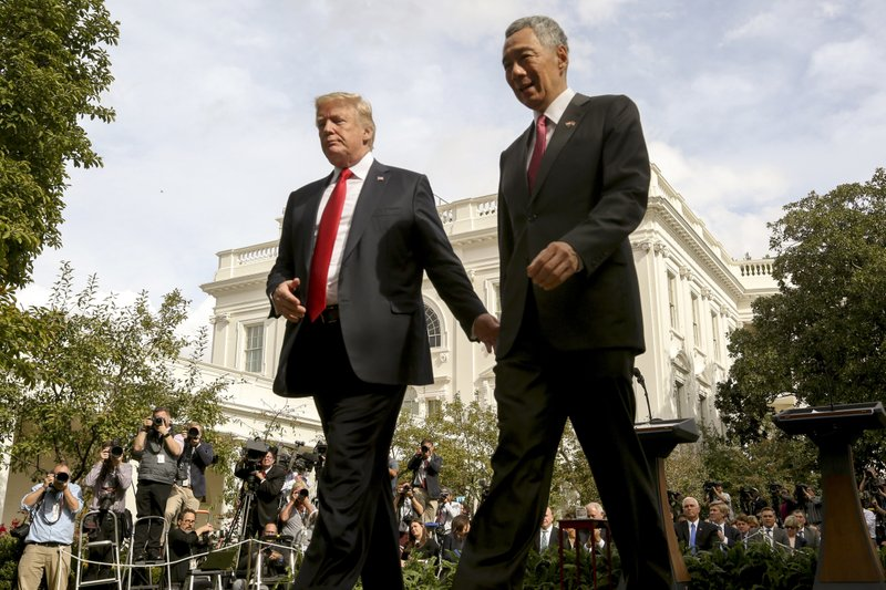 Donald Trump, Lee Hsien