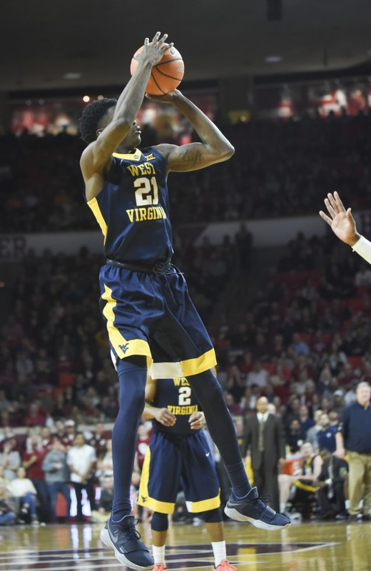 finest selection 22416 a7646 West Virginia survives Young's 32 points to beat Oklahoma