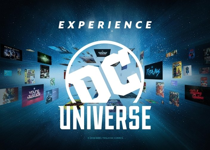 Experience the DC UNIVERSE Like Never Before