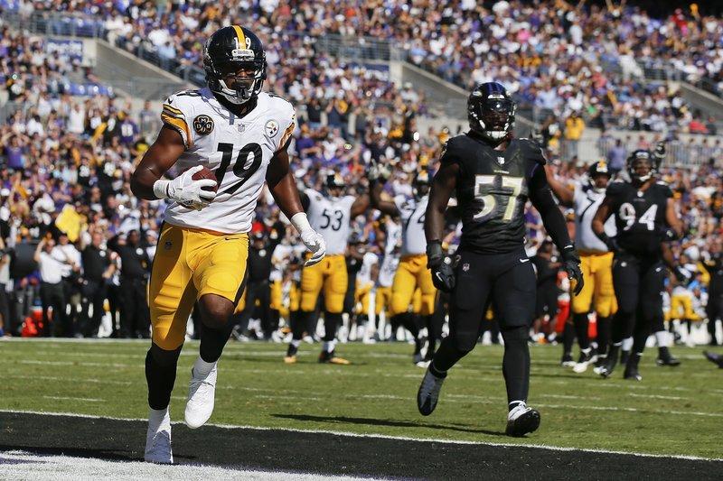 827abb741b4 JuJu Smith-Schuster. Pittsburgh Steelers ...